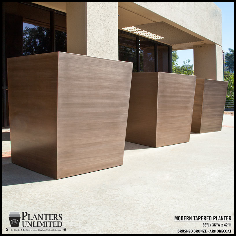 Rethinking metal planters in commercial design workwithnaturefo