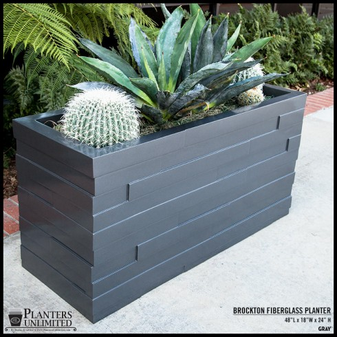 Stylish New Commercial Planters For Your Business