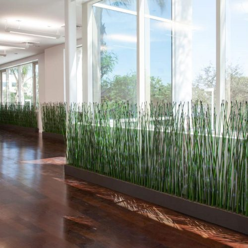 Horsetail space dividers