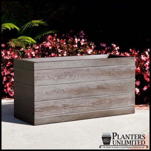 Madera Rectangular Planter